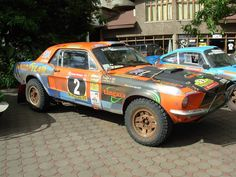1968 Ford Mustang rally car
