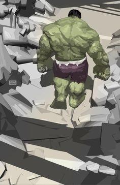 #Hulk #Fan #Art. (Hulk!) By: Raffaele-Ienco. (THE * 5 * STÅR * ÅWARD * OF: * AW YEAH, IT'S MAJOR ÅWESOMENESS!!!™)[THANK U 4 PINNING<·><]<©>