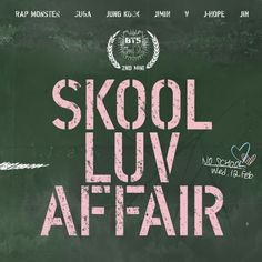 Bts- Skool Luv Affair Mini Album CD Photo Card Booklet K-pop for sale online Pop Albums, Music Albums, K Pop, Bts Just One Day, Bts Skool Luv Affair, Bts School, Bts Now, Hip Hop, Album Bts