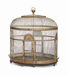 collection personnelle d'Elsa Schiaparelli: Cage aux oiseaux du XXème siècle