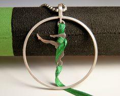 Cintas acrobáticas de MiriamPenyasJoyas en Etsy- circo- telas acrobáticas