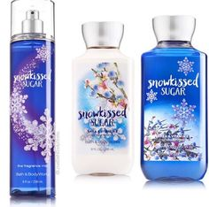 Snow kissed sugar collection