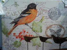Another lovely bird artwork