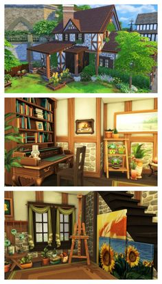 THE SIMS 4 RENOVATION - Havisham House - Windenburg Cottage