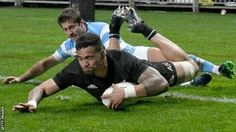 Vaea Fifita was making his first start in his second Test  New Zealand v Argentina  New Zealand (15) 39  Tries: Milner-Skudder Liernert-Brown Dagg Fifita McKenzie Barrett Cons: Sopoaga 3 Pens: Sopoaga  Argentina (16) 22  Tries: Sanchez Cons: Sanchez Pens: Sanchez Drop goals: Sanchez  New Zealand came from behind to beat Argentina and maintain their 100% record in the Rugby Championship.  The victory puts the All Blacks top of the table after South Africa drew 23-23 with Australia in Perth…