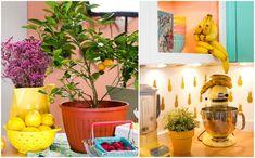 Colorida, estampada e muito florida, a cozinha de Raiza Costa em Nova York é uma atração à parte