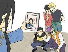 KKKKK A NÃO Sad Anime, Anime Guys, Manga Anime, 19 Days Manga Español, Banana Art, Manhwa, Fanarts Anime, Fish Art, Fujoshi