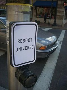 Reboot Univers informatiebord