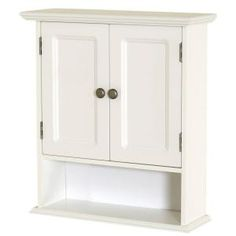 zenna home collette in w x 24 in h x 7 in d bathroom storage wall cabinet in white