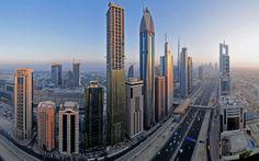 Oklahoma Skyline Wallpaper | Top Best Dubai Skyline HD Wallpapers For Windows 7 , Windows Vista ...