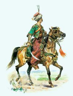 Eugène Lelièpvre, (b,1908)- Arab Horseman