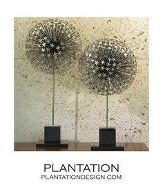 Starburst Spheres Sculptures