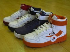 FIRST DOWN: THROWBACK:::CLASSIC FILA'S (1992)