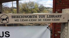 You have to be keen to borrow toys at Beechworth midweek