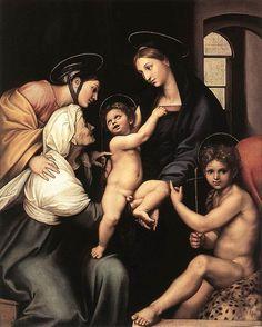 Madonna Impannata - Raffaello Sanzio