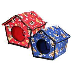 Soft Pet Doggy Cat Indoor Slepping House Kennel Warm Cloth Bed Basket ... Why do cat - Catsincare.com!