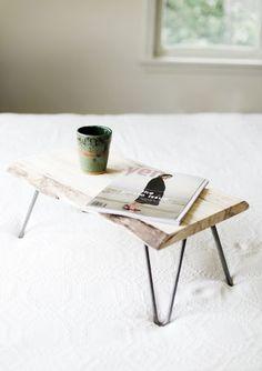 DIY - Wood & Hairpin Leg Lap Desk