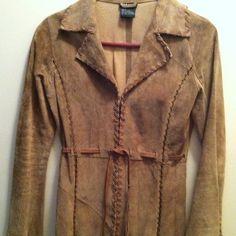 Wet Seal suede jacket coat Very stylish jacket. Like new! Suede Jacket, Leather Jacket, Stylish Jackets, Wet Seal, Fashion Design, Fashion Tips, Fashion Trends, Suede Leather, Blazer