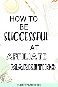 Tips on How To Be Successful At Affiliate Marketing - Affiliate Marketing - Home Business Success - Make Money Online Marketing Logo, Marketing Program, Digital Marketing, Business Marketing, Amazon Affiliate Marketing, Online Marketing Strategies, Influencer Marketing, Pinterest Marketing, Making Ideas