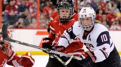 Canadians glad U.S. at women's hockey championship  so they can take their title