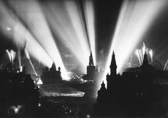 The end of WW2 is celebrated in Moscow's Red Square, May 9, 1945