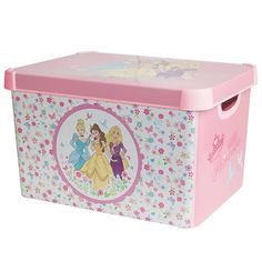 Disney Princess Storage Box   Dunelm