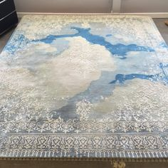 Jan Kath has reached the clouds..'Ferrara Cloud Special Rocked' in stock at RUG ART