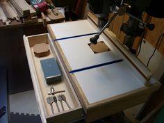 Drill Press Table (ala Pintodeluxe) - by Lenny @ LumberJocks.com ~ woodworking community