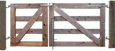 Znalezione obrazy dla zapytania wooden farm gate