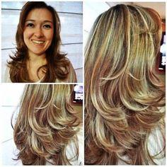 tipos de corte de cabelo feminino em camadas curto