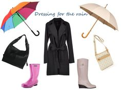dressing for the rain