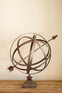 Vintage Garden Armillary Sphere