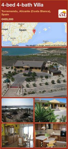 4-bed 4-bath Villa in Torremendo, Alicante (Costa Blanca), Spain ►€455,000 #PropertyForSaleInSpain