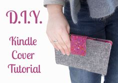 Kindle Cover Tutorial from Displacement Activity