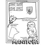 Canadian Province - Manitoba coloring page, all of canada! Geography Of Canada, Quilts Canada, World Thinking Day, Summer Reading Program, Canadian History, Study History, Teaching Social Studies, Free Coloring Pages, Printable Coloring
