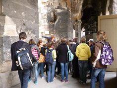 Visite des arènes de Nîmes