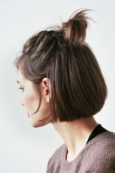 7+Chic+Ways+to+Style+Short+Hair,+Courtesy+of+Pinterest+via+@ByrdieBeautyUK