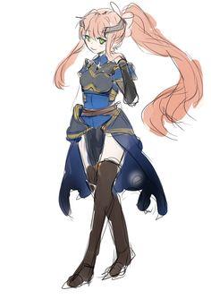 Monika In a Fantasy AU Outfit~ ❤️Doki Doki Literature Club!❤️