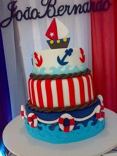 Bolo Marinheiro / Cake Nautical