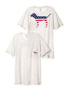 Campus Short Sleeve Tee - Grey Americana