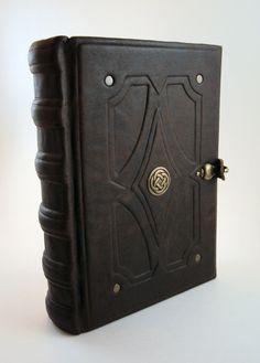 Antique celtic book by MilleCuirs.deviantart.com on @deviantART