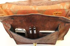 Get organized....Handcrafted Leatherwork info at www.facebook.com/SciglianoDesigns