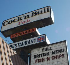 The cock n bull restaurant have thought
