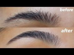[Vider ]I'm going to be showing you how I groom my eyebrows at home. This is a really easy and fast way to make your eyebrows really nice without even filling them in. Natural Eyebrow Tutorial, Perfect Eyebrows Tutorial, Eyebrow Tutorial For Beginners, Bushy Eyebrows, Thin Eyebrows, Natural Eyebrows, Eyebrows Goals, Too Faced Bronzer, Eyebrow Grooming