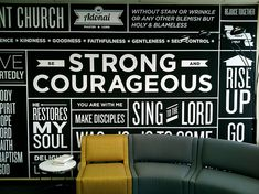 Inspiration for main lobby - to consider when designing kids hallway  Typography Wall Art | Flickr - Photo Sharing!