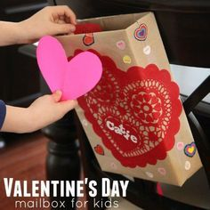 "A big welcome today to Kristina from Toddler Approved, who shares this cute little Valentine's Day Ideas for Preschoolers and toddlers. Love that it is a great ""upcycled"" craft for a cereal box too and is so easy and fun to make for younger kids. Isn't it just too cute? Over to Kristina… We love …"
