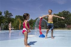 Cool off at the Splash Pad at Sesquicentennial State Park in Columbia, SC! Free with park admission.