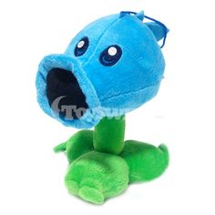 Plants vs Zombies Plush Toys-Ice Peashooter Cool Snow Pea Dolls