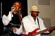 At the East Palo Alto Blues Society Fundraiser at the Club Fox.