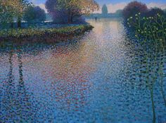 Ton Dubbeldam - unknown name - oil with dry pastel